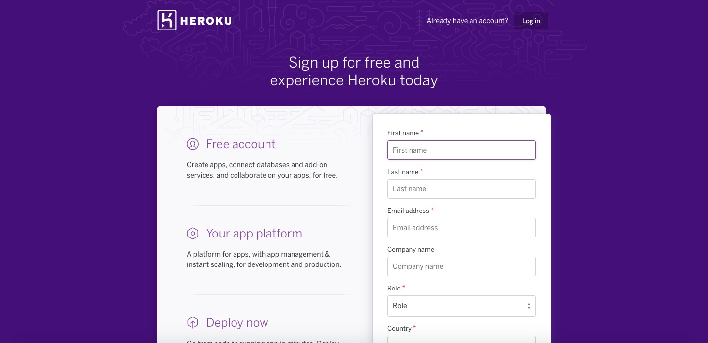 Upload(Deploy) django project to Heroku - 회원 가입