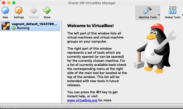 virtualbox with virtual machine