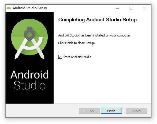 react-native development environment setting - Android studio installation and configuration complete